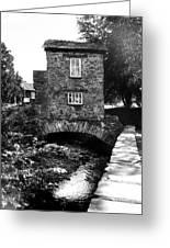 Ye Olde Toll Bridge Greeting Card