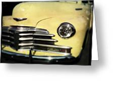 Yellow 47 Chevrolet Greeting Card
