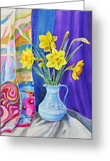 Yellow Daffodils Greeting Card