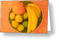 Yellow Fruit No2 Greeting Card