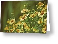 Yellow Green Greeting Card