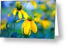Yellow Guardians Greeting Card