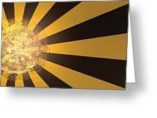 Yellow Jacket No 2 Greeting Card