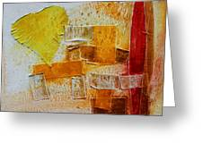 Yellow Love 3 Greeting Card
