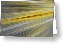 Yellow Greeting Card by Sharon Lisa Clarke