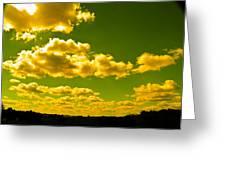 Yellow Skies Greeting Card