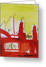 Yellow Sky Industry Greeting Card