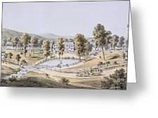 Yellow Sulphur Springs, Montgomery Greeting Card