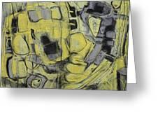 Yellow Trip Greeting Card