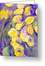 Yellow Tulips 3 Greeting Card