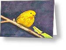 Yellow Warbler II Greeting Card