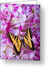 Yellow Wings Greeting Card
