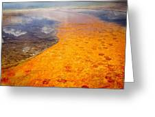 Yellowstone - The Elements Greeting Card
