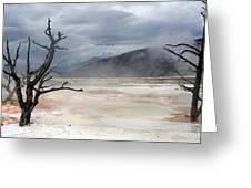 Yellowstone 21 Greeting Card