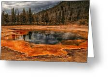 Yellowstone 3 Greeting Card