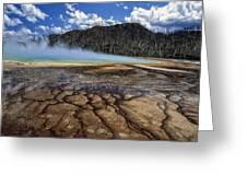 Yellowstone 6 Greeting Card