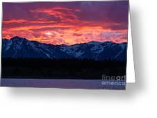 Yellowstone Beauty Greeting Card