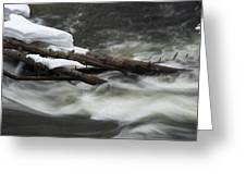 Yellowstone Falls Greeting Card by David Yack