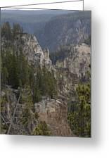 Yellowstone Grand Canyon Greeting Card