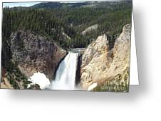 Yellowstone Grand Canyon Greeting Card