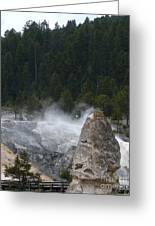 Yellowstone Greeting Card by Jeff Pickett