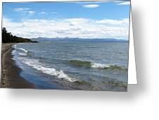 Yellowstone Lake Greeting Card