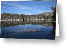 Yellowstone National Park - Mountain Lake Greeting Card