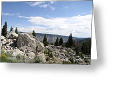 Yellowstone N P Landscape Greeting Card