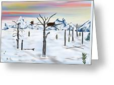 Yellowstone Years After Greeting Card