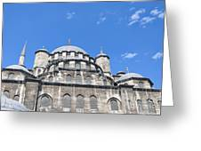 Yeni Cammii Mosque 12 Greeting Card