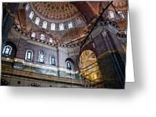 Yeni Valide  Camii Mosque Istanbul Turkey Greeting Card