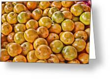 Yep Oranges Greeting Card