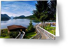 Yes Bay Lodge - The View Greeting Card