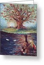 Yggdrasil - The Last Refuge Greeting Card