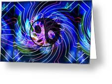 Yin Yang Transformations Greeting Card