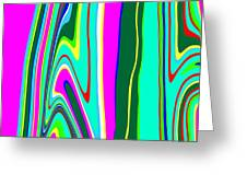 Yipes Stripes II Variation  C2014 Greeting Card