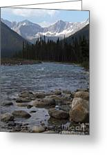Yoho National Park British Columbia Greeting Card