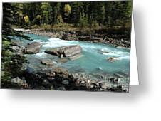 Yoho River Greeting Card