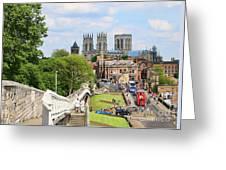 York England 6180 Greeting Card