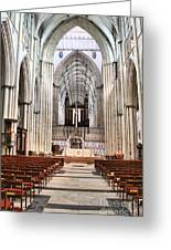 York Minster 6114 Greeting Card