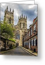 York Minster England Greeting Card