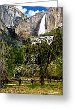 Yosemite Apple Orchard  Greeting Card
