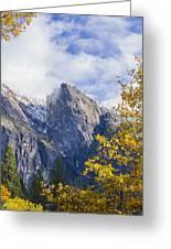 Yosemite Between Seasons Greeting Card