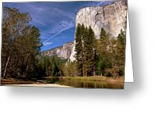 Yosemite El Capitan River Greeting Card