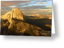 Yosemite Half Dome Greeting Card