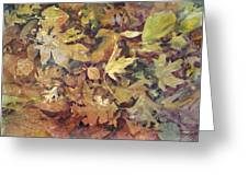 Yosemite Leaves Greeting Card