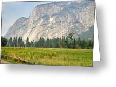 Yosemite Meadow Greeting Card