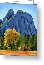 Yosemite Oaks Greeting Card