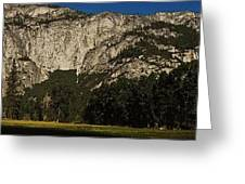 Yosemite Panorama Greeting Card