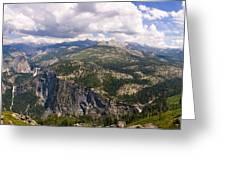 Yosemite Panorama Greeting Card